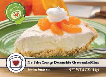 No-Bake Orange Dreamsicle Cheesecake Mix
