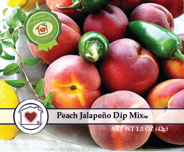 Peach Jalapeno Dip Mix **NEW**
