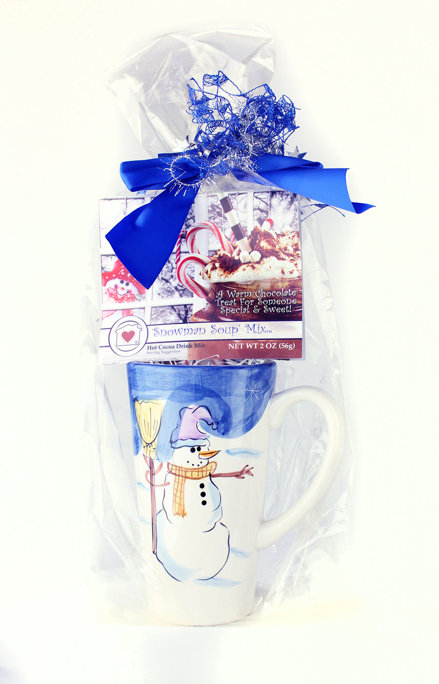 Snowman Soup Mix (Hot Cocoa) Gift Set