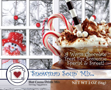 Snowman Soup Mix (Hot Cocoa)
