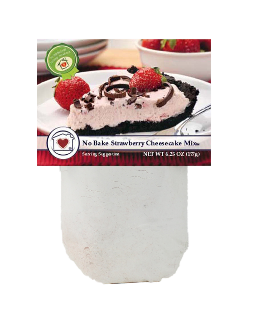 No-Bake Strawberry Cheesecake Mix