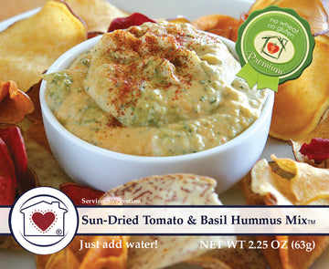 Sun-Dried Tomato & Basil Hummus Mix