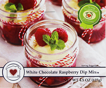 White Chocolate Raspberry Dip Mix **NEW**