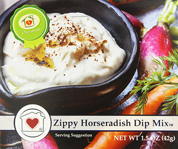 Zippy Horseradish Dip Mix