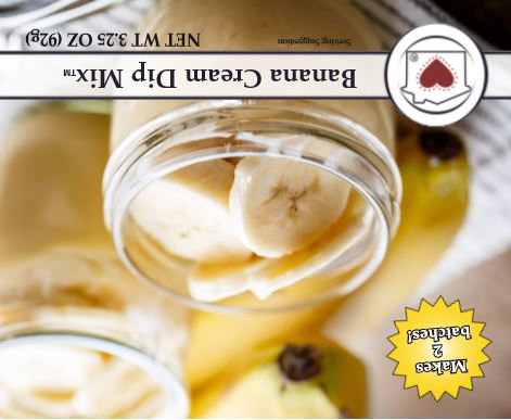 Banana Cream Dip Mix **NEW**