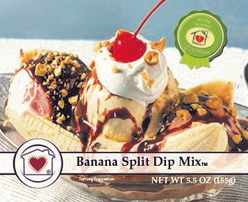 Banana Split Dip Mix