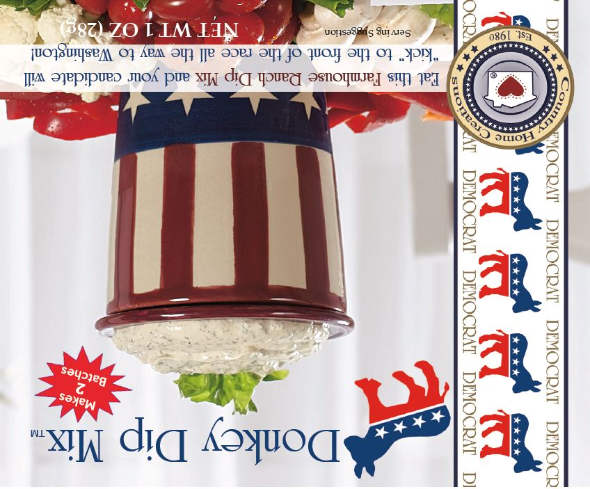 Donkey Dip Mix (Farmhouse Ranch)