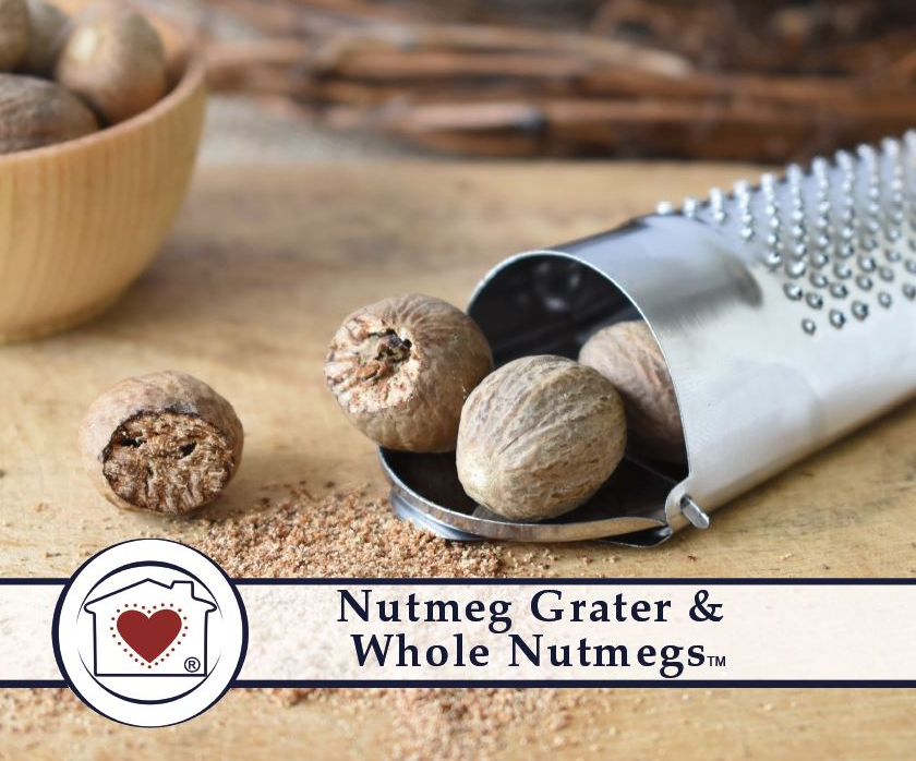 Nutmeg Grater & Whole Nutmegs