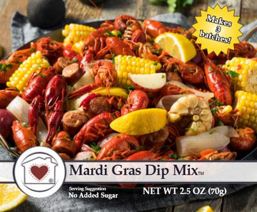 Mardi Gras Dip Mix **NEW**