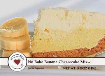 No Bake Banana Cheesecake **NEW**