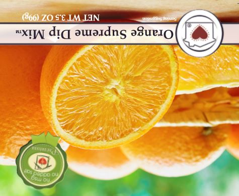 Orange Supreme Dip Mix **NEW**