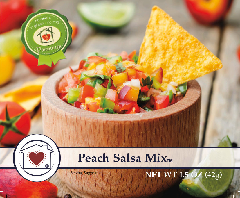 Peach Salsa Mix **NEW**