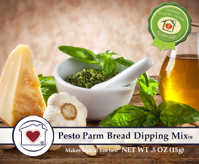 Pesto Parm Bread Dipping Mix