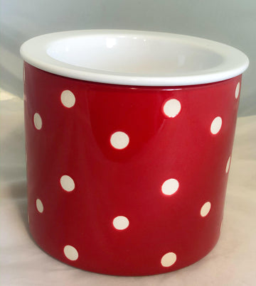Red Polka Dot Dip Chiller