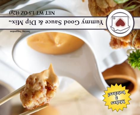 Yummy Good Sauce & Dip Mix **NEW**