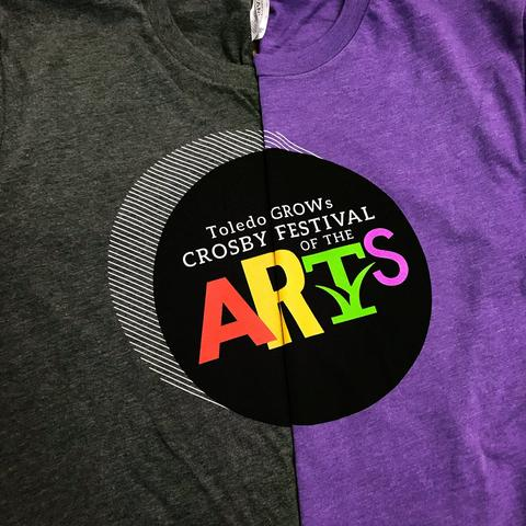 Toledo GROWs Crosby Festival of the Arts Shirts