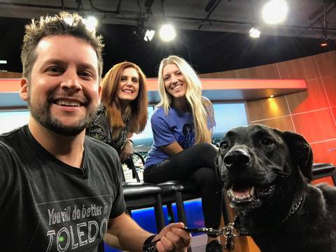 Jupmode Puppy on the News!