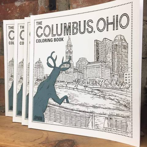 Columbus Ohio Coloring Book
