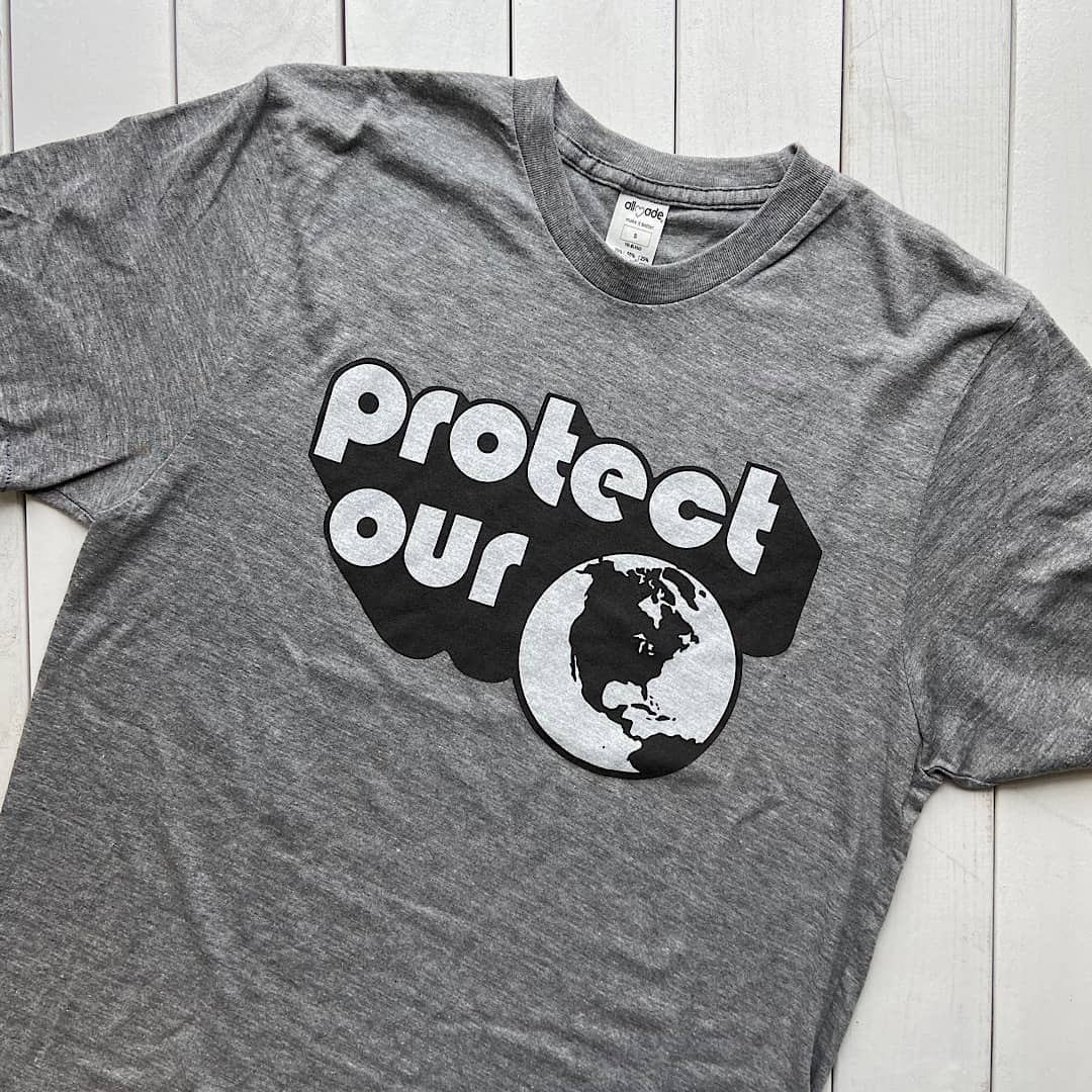 Celebrate Earth Hour (Our Big Switch to Using T-Shirts Made of Recycled Material)