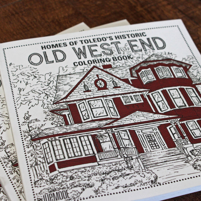 Old West End Coloring Book!!