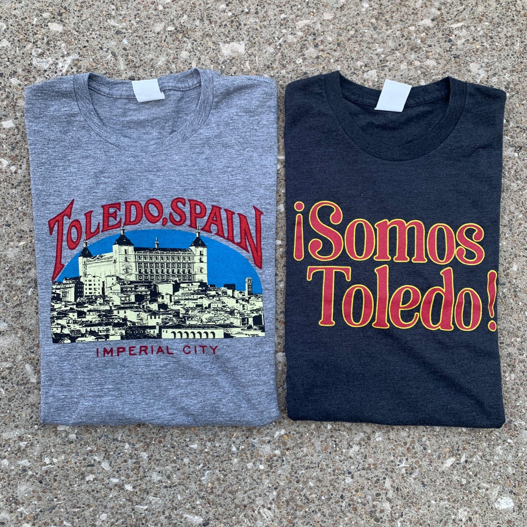 Transport yourself to Spain with our new Toledo Spain shirts!
