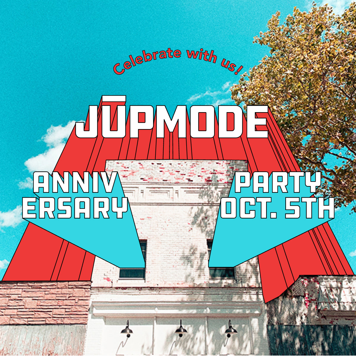 Jupmode's 3rd Year on Adams Street!