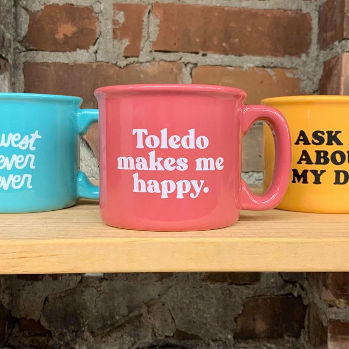 New Midwest, Toledo, and Dog Coffee Mugs