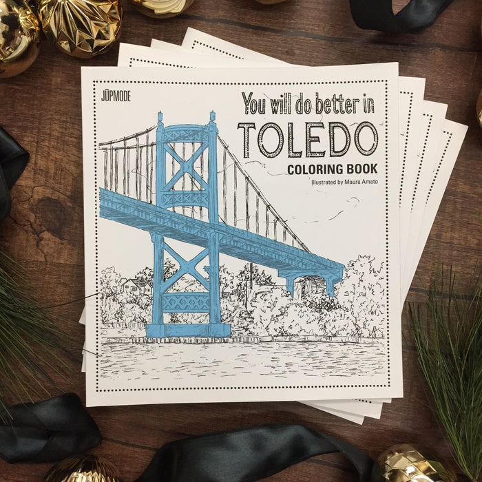 BEST GIFT THIS SEASON: Toledo Coloring Book