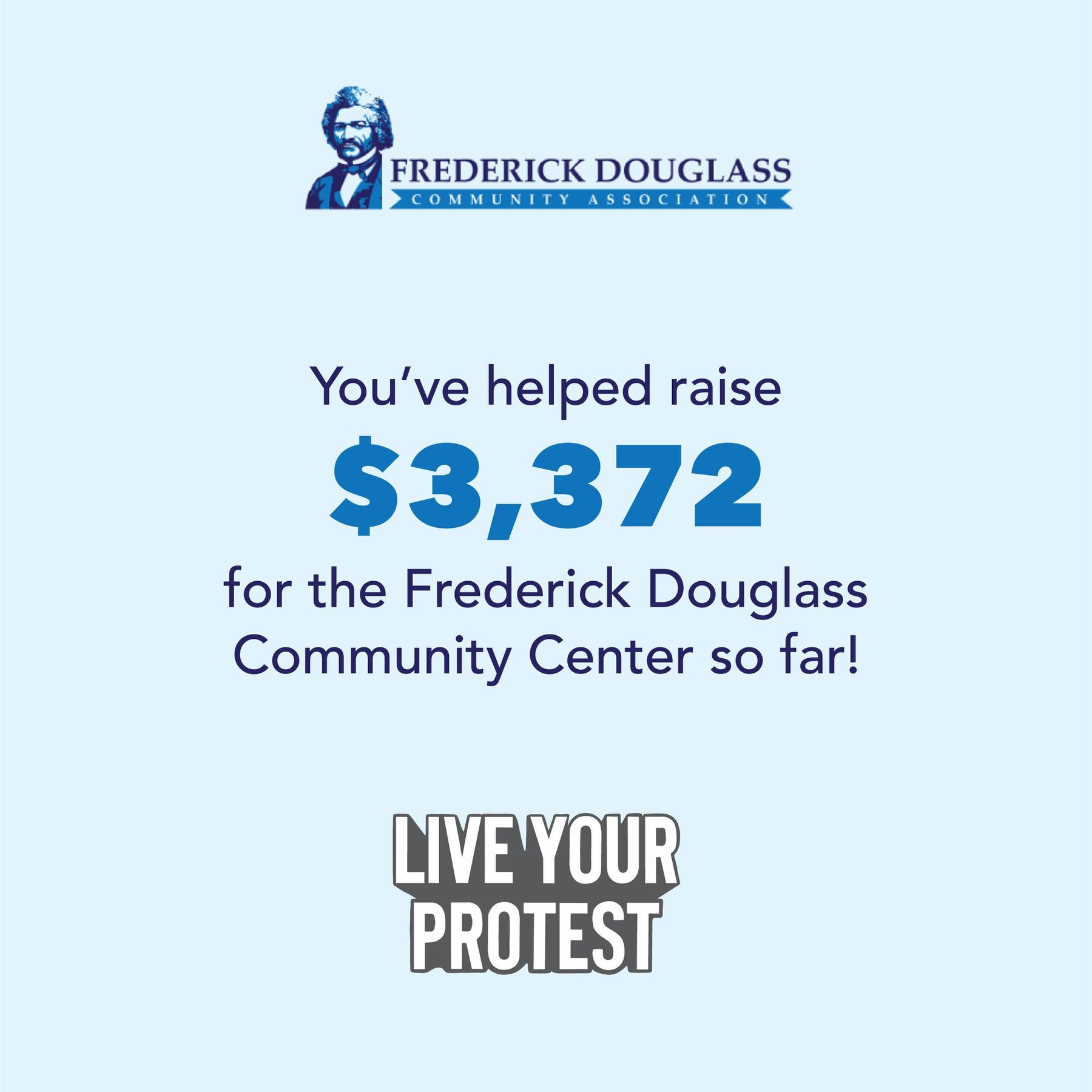 Frederick Douglass Shirt Fundraiser Update