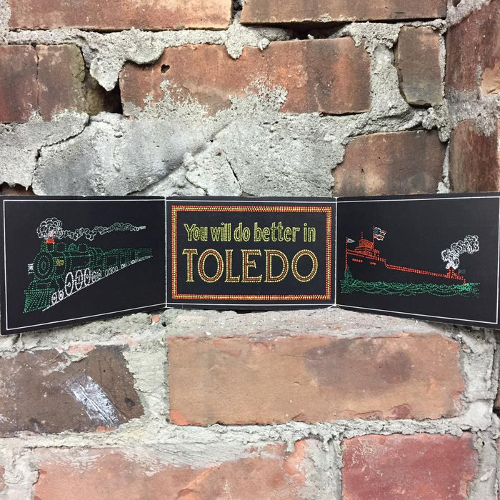 Vintage You Will Do Better in Toledo Postcard
