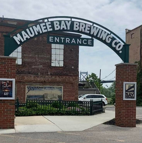 Front entrance of Maumee Bay Brewing Company