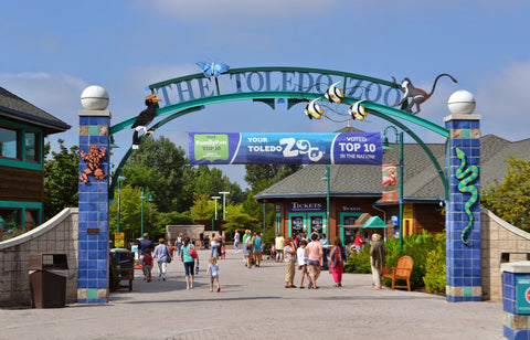 Front Entrance of the Toledo Zoo