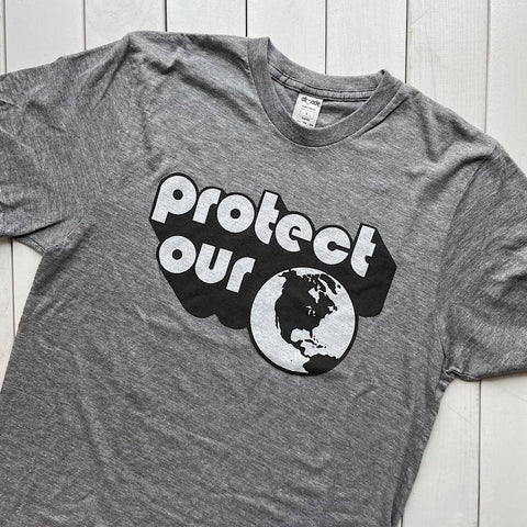 Protect Our Planet, Earth Day inspired t-shirt