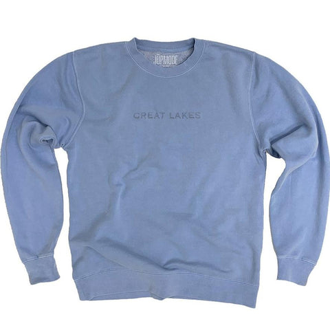 Great Lakes Garment Dyed Crew Sweatshirt