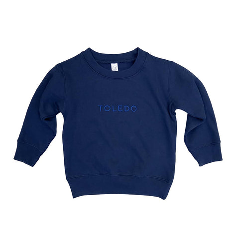 Toledo youth embroidered crew