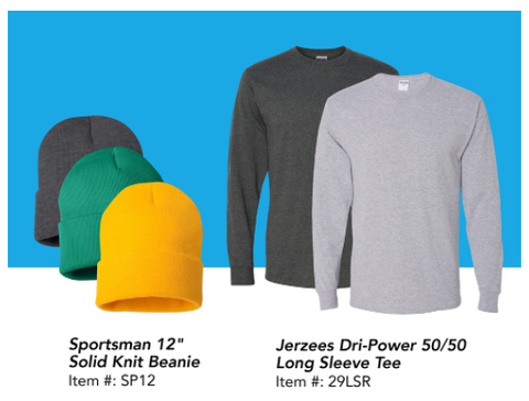 Customizable hats and beanies