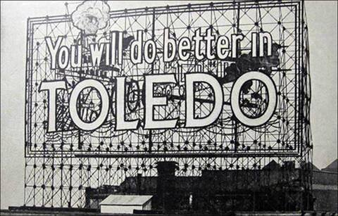 you will do better in toledo original sign