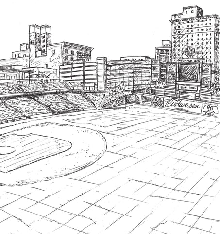 Fifth Third Field Mud Hens Coloring Book