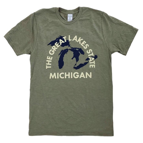 Michigan the Great Lakes State Shirt
