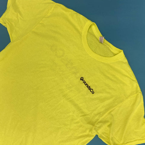 custom screen printed shirts for grounds co a toledo ohio landscaping company