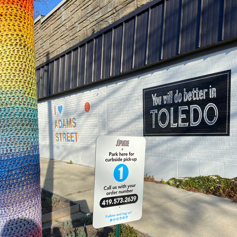 jupmode toledo offers curbside pickup for holiday gifts