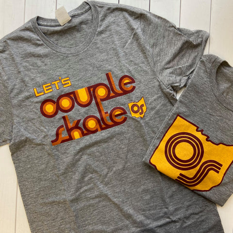 let's couple skate and ohio skate vintage t-shirts