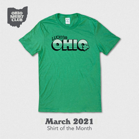 lucky to be from ohio ohio shirt club shirt