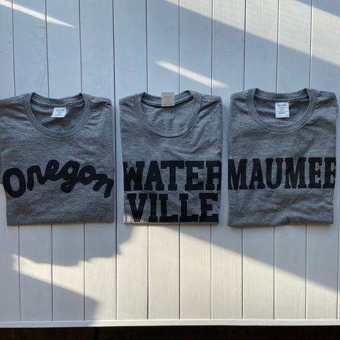oregon waterville maumee ohio t-shirts