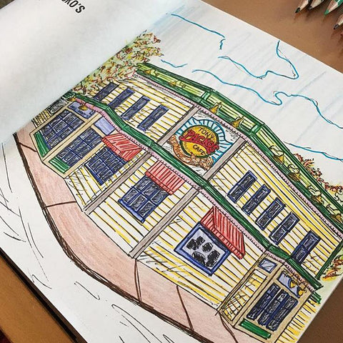 Tony Packo's Coloring Book