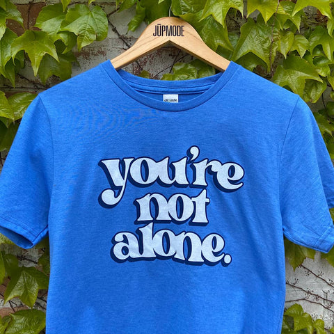 you're not alone t-shirt to support great toledo NAMI