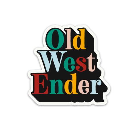 3-Pack Old West Ender Sticker - Jupmode