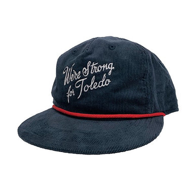 Strong for Toledo Corduroy Hat - Jupmode