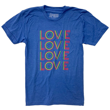 Retro Rainbow Love Shirt - Jupmode