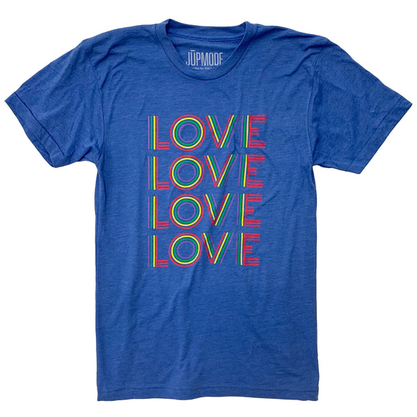 Retro Rainbow Love Shirt